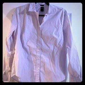 Gap button down blouse size Large